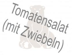 Tomatensalat(mit Zwiebeln)