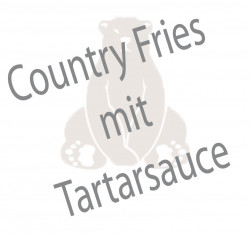 Country Fries mit Tartarsauce
