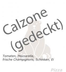 25. Calzone (gedeckte Pizza)