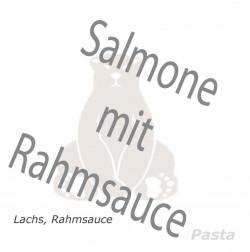 Salmone mit Rahmsauce
