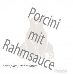 Porcini mit Rahmsauce